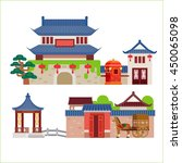 china building | Shutterstock .eps vector #450065098
