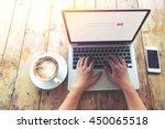 top view  above  of beautiful...   Shutterstock . vector #450065518