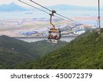 hong kong   june 30   cable car ... | Shutterstock . vector #450072379