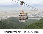 hong kong   june 30   cable car ... | Shutterstock . vector #450072406