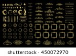 wicker lines and old decor... | Shutterstock . vector #450072970