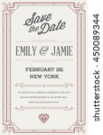 great quality style invitation... | Shutterstock .eps vector #450089344