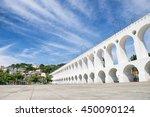 Landmark White Arches Of Arcos...
