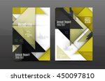 geometric abstract background.... | Shutterstock .eps vector #450097810
