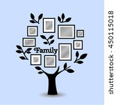 memories tree with picture... | Shutterstock .eps vector #450115018