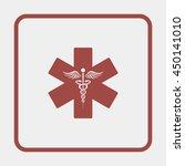 emergency medicine symbol | Shutterstock .eps vector #450141010