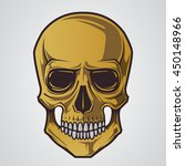 skull illustration | Shutterstock .eps vector #450148966