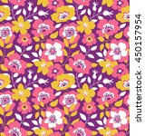 vector seamless background with ...   Shutterstock .eps vector #450157954
