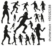 Running People Vector...