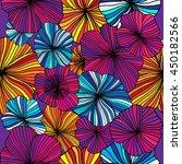flower seamless background.... | Shutterstock .eps vector #450182566