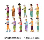 stock vector illustration... | Shutterstock .eps vector #450184108