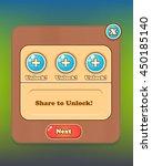 unlock levels pop up game asset ...