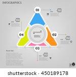 modern infographic  set  group  ... | Shutterstock .eps vector #450189178