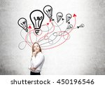 different direction and idea... | Shutterstock . vector #450196546