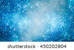 starry outer space  | Shutterstock . vector #450202804