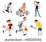 vector illustration image of a... | Shutterstock .eps vector #450205543