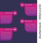 1 2 3 4  step labels  timeline...