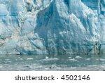 glacier water blue cold ice...   Shutterstock . vector #4502146