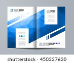 brochure template  flyer design ... | Shutterstock .eps vector #450227620