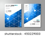 brochure template  flyer design ... | Shutterstock .eps vector #450229003
