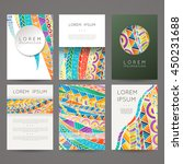 set of vector design templates. ...   Shutterstock .eps vector #450231688