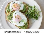 Poached Eggs With Avocado And...