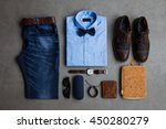 men's fashion  casual outfits... | Shutterstock . vector #450280279