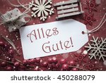 nostalgic christmas decoration  ... | Shutterstock . vector #450288079