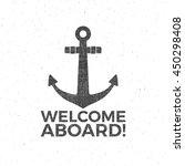 nautical design. sailor emblem.