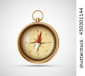 icon old metal compass. stock... | Shutterstock .eps vector #450301144