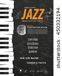 keyboard  musical instrument... | Shutterstock .eps vector #450332194
