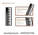 illustration vector keyboard ... | Shutterstock .eps vector #450332740