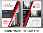 business brochure flyer design... | Shutterstock .eps vector #450335170