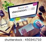 Small photo of Decision Decide Deciding Determination Opportunity Concept