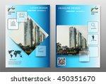 blue annual report brochure...