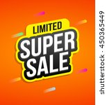 special offer badges for labels ... | Shutterstock .eps vector #450365449
