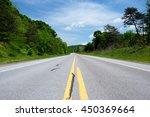 empty highway in pennsylvania... | Shutterstock . vector #450369664