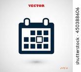 calendar icon | Shutterstock .eps vector #450388606