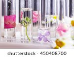 process of making perfumes | Shutterstock . vector #450408700