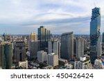 mahanakorn tower city center... | Shutterstock . vector #450426424