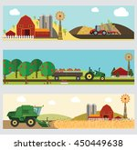 agriculture and farming.... | Shutterstock .eps vector #450449638