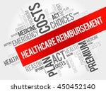 healthcare reimbursement word... | Shutterstock .eps vector #450452140