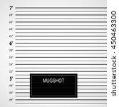 police lineup or mugshot...   Shutterstock .eps vector #450463300