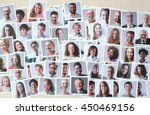 smiling people | Shutterstock . vector #450469156