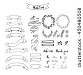 ribbon vector | Shutterstock .eps vector #450480508