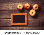 photo of the brown photo frame...   Shutterstock . vector #450485020
