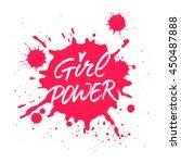 Girl Power Handwritten...