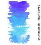 hand drawn watercolor  vertical ... | Shutterstock .eps vector #450495958