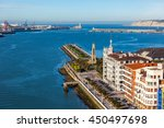 Small photo of El Abra bay and Getxo pier and seafront. Basque country, The Northern Spain