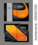 brochure template folder... | Shutterstock .eps vector #450507250